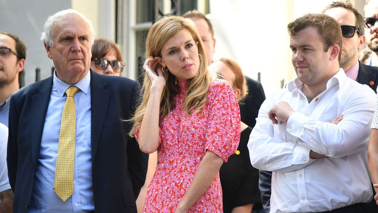 Carrie Symonds: Trip to US for Boris Johnson's girlfriend obstructed 'over Somaliland visit'