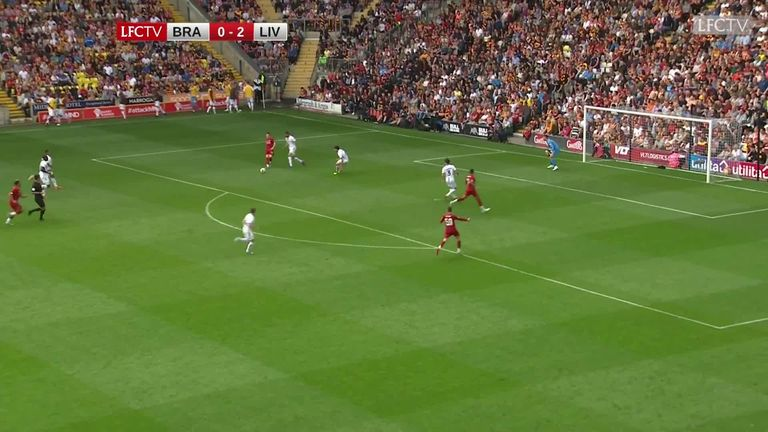Highlights of the pre-season friendly between Bradford and Liverpool. Watch all of Liverpool's pre-season games live in the UK and Ireland on LFCTV (Sky channel – 425). Go to www.sky.com/lfctv for more details about how to join.