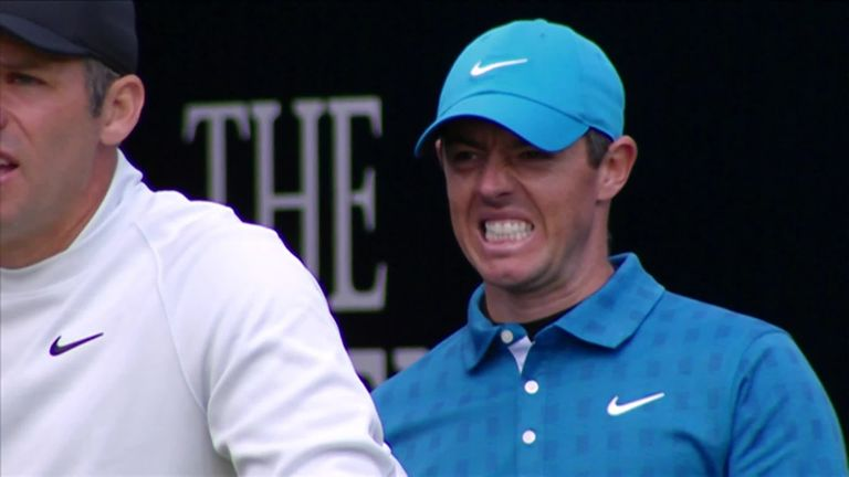 Rory McIlroy made a nightmare start to his Open Championship with a quadruple bogey on the opening hole at Royal Portrush