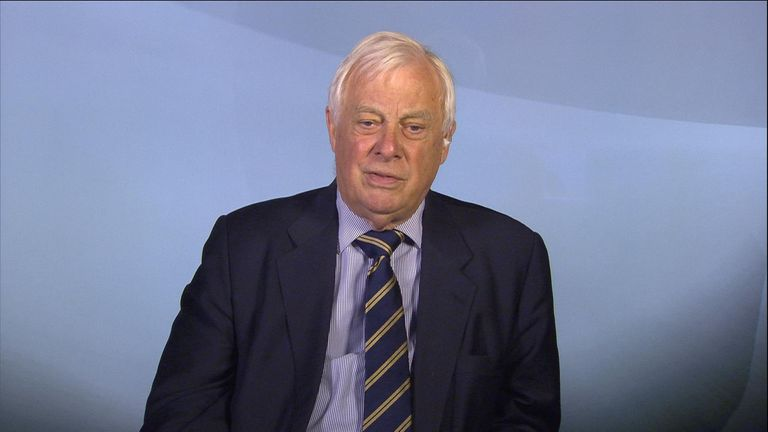 Lord Chris Patten was Hong Kong's last British governor