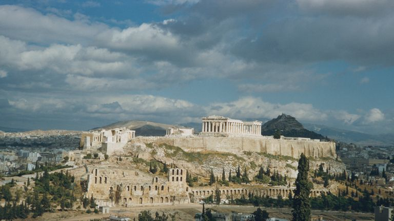 The Acropolis of Athens has shut down due to sizzling temperatures