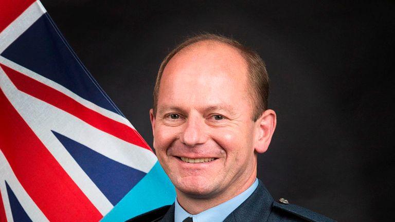 Air Marshal Michael Wigston