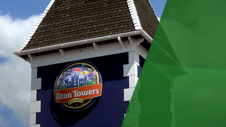 Merlin, which owns Alton Towers, is being taken over by a private equity firms