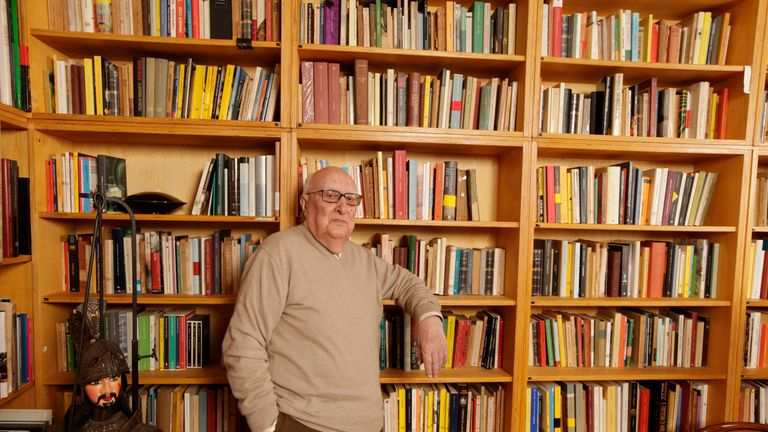 Italian writer Andrea Camilleri has died aged 93