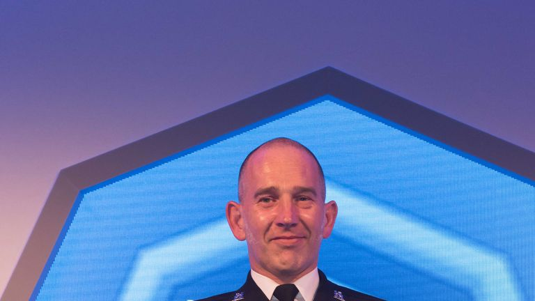 PC Dear won the overall award at this year's event. Pic: Police Federation