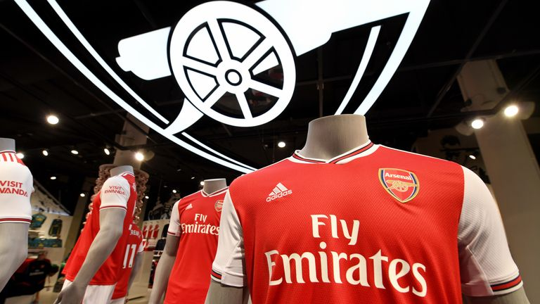 sale retailer 24ecd 2ac98 Offensive messages on Arsenal kits as Adidas campaign ...
