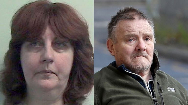 Avril Jones and Edward Cairney have been jailed for life