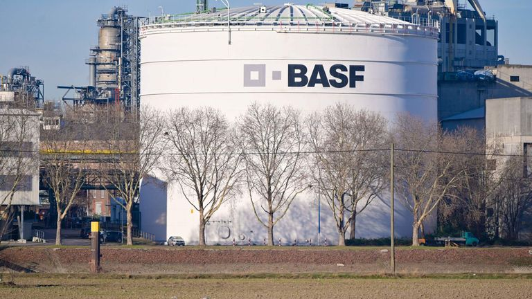 BASF is the world's second biggest chemicals company with a market value of almost 50bn pounds