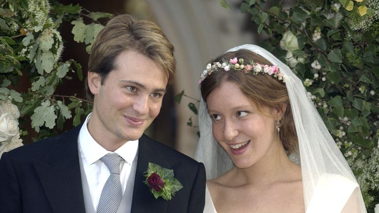 Ben Goldsmith and Kate Rothschild were married in 2003