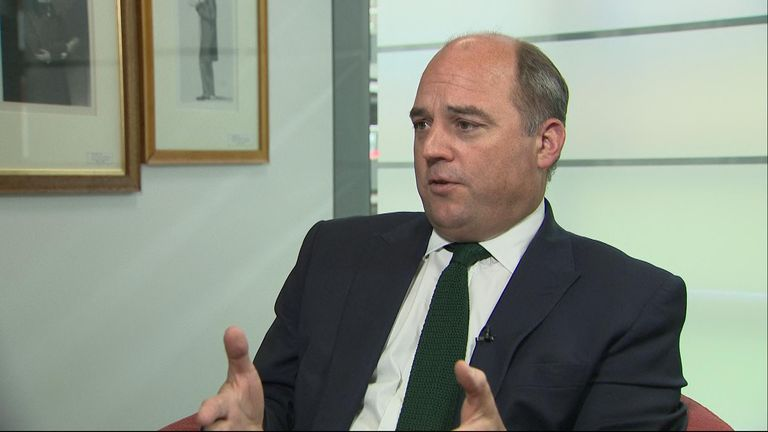 Security Minister Ben Wallace warns ISIS are still a risk