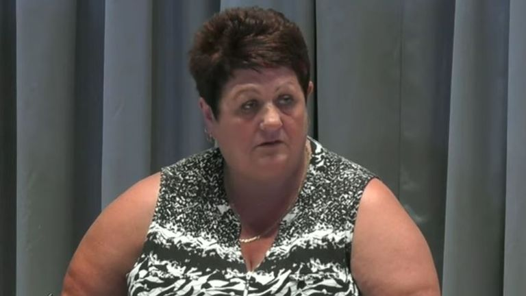 Karisa Jones said her husband Geraint suffered a 'horrific death'