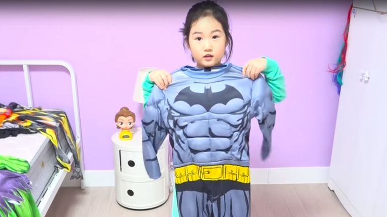 Boram, from South Korea, makes millions from her videos of playtime. Pic: YouTube