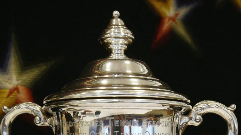 Becker is selling his US Open trophy