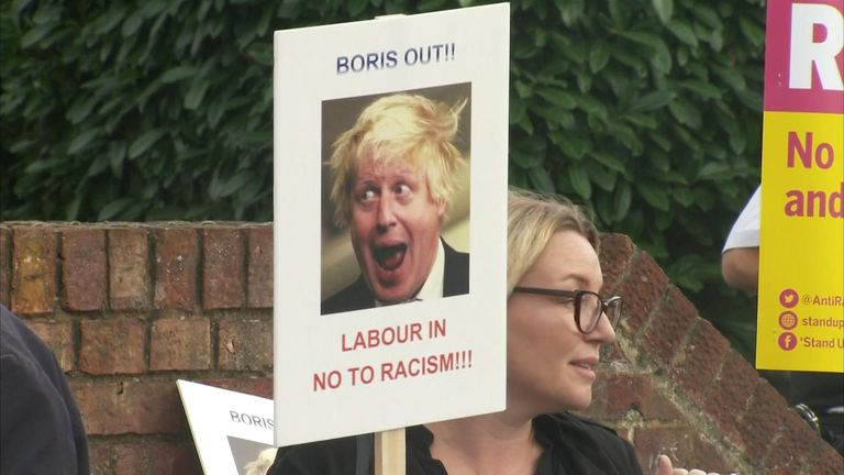Boris Johnson has been a divisive figure due to his comments about Muslims