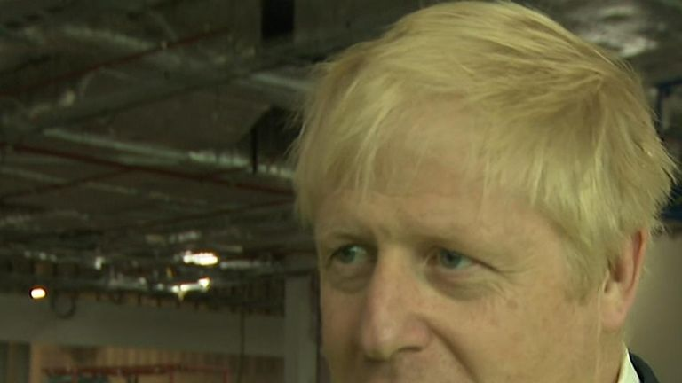 Boris Johnson emphasises the importance of strong US - UK relations