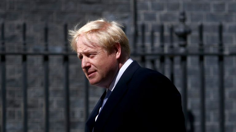 Boris Johnson has appointed hardline Brexiteers to top roles