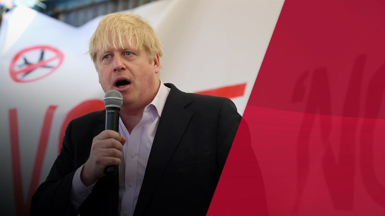 Boris Johnson opposed a third runway at Heathrow but missed a crucial vote to block it