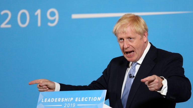 In bizarre exchanges, Boris Johnson discussed Star Wars