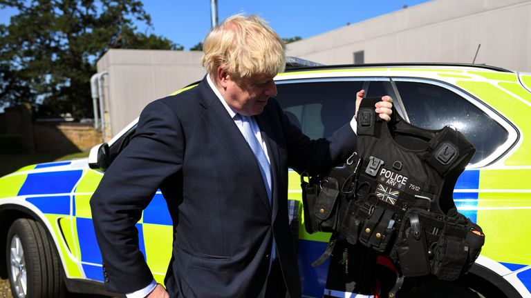 Downing Street says the new PM fully supports the police's use of stop and search