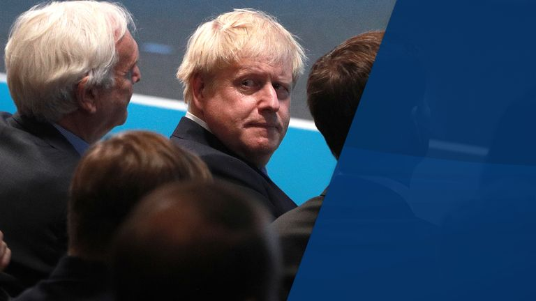 Boris Johnson has insisted the UK will leave the EU on October 31