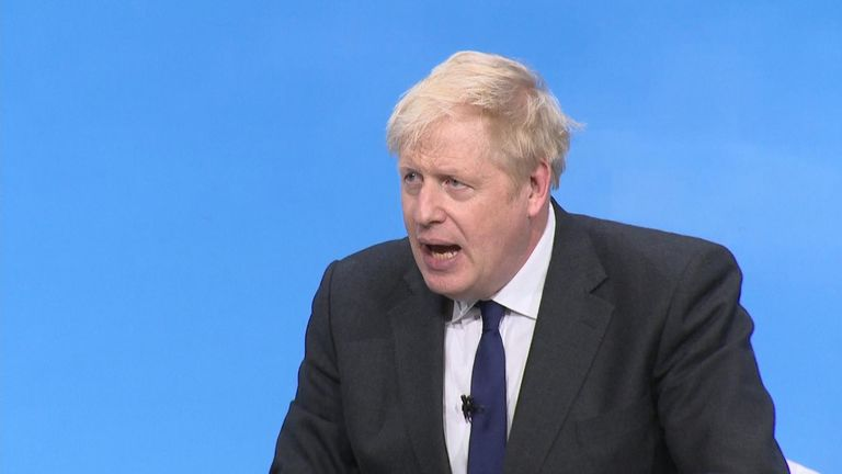 Conservative leadership front runner Boris Johnson categorically ruled out forming an election pact with the Brexit party