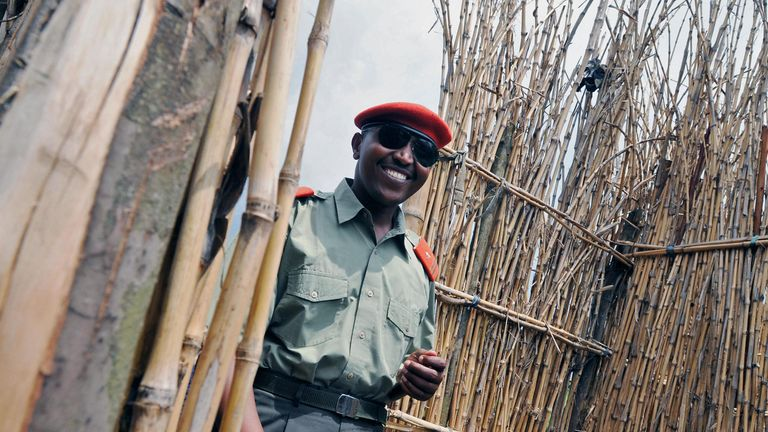 He was a commander of the Patriotic Forces for the Liberation of Congo