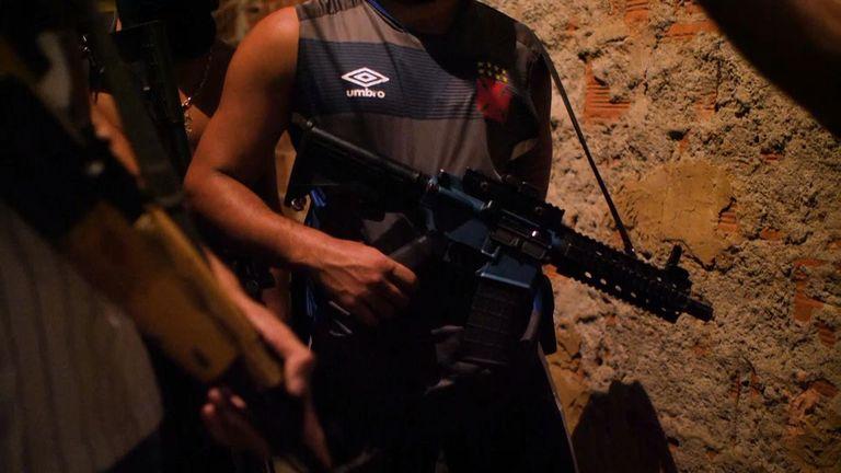 Drug gangs in Brazil make millions every year