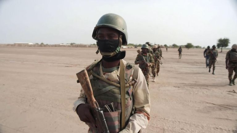 This the frontline in the battle again Boko Haram