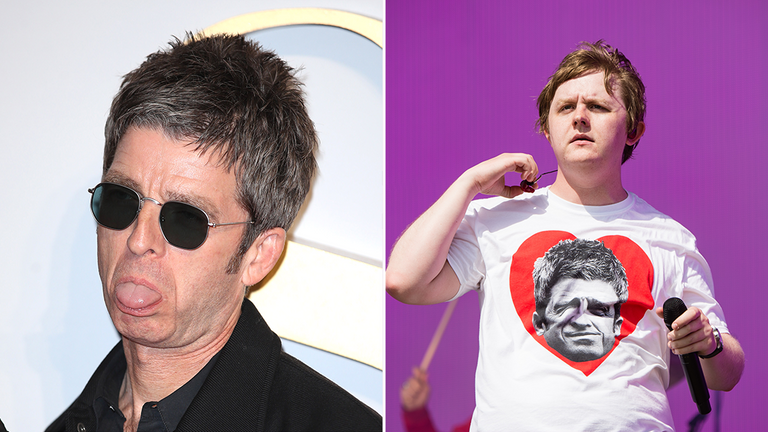 Noel Gallagher intensified his feud with Scottish artist Lewis Capaldi