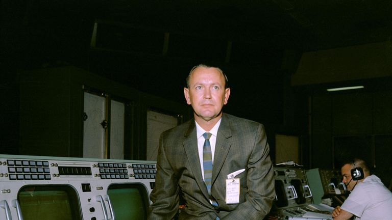 Chris Kraft created NASA's Mission Control. Pic: NASA