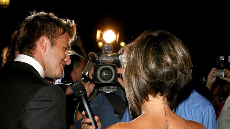 The 63rd International Venice Film Festival - David and Victoria Beckham Hotel Sighting