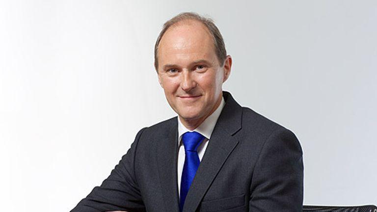 David Sleath has been chief executive of Segro since April 2011. Pic: Segro