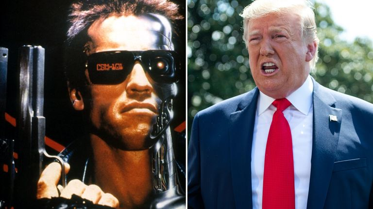 The Terminator and Donald Trump