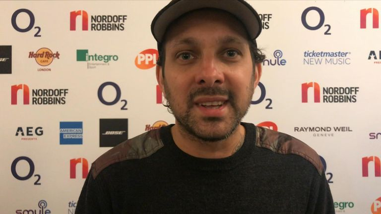Magician Dynamo tells Sky News who he's  currently listening to and talks about what he's been getting up to