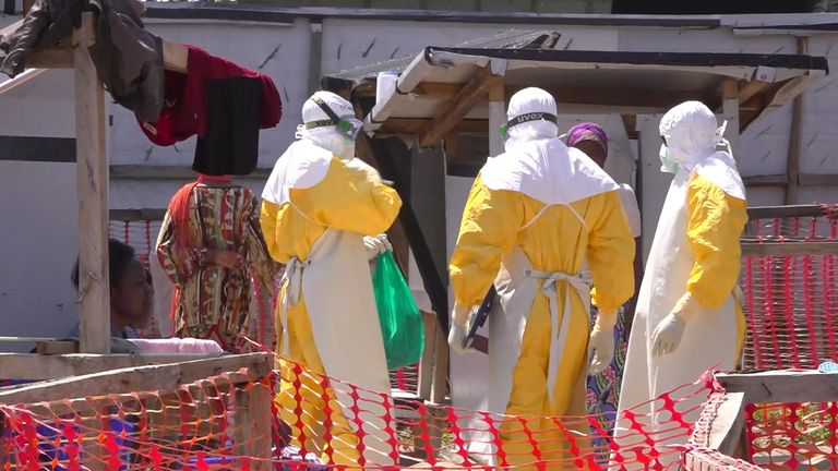International aid agencies and officials from the Democratic Republic of Congo have been battling the Ebola virus for a year in what is the worst outbreak in the country's history. sparks package