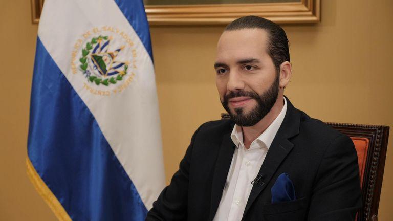 President of El Salvador, Nayib Bukele.