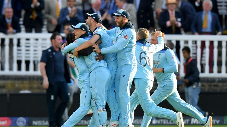 England have won the World Cup for the first time