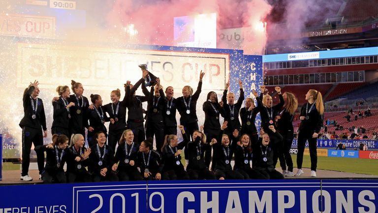 England won SheBelieves Cup