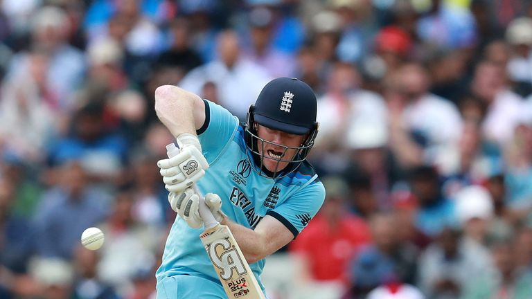 Nasser Hussain says Eoin Morgan has his own unique style against short-pitched bowling at the moment