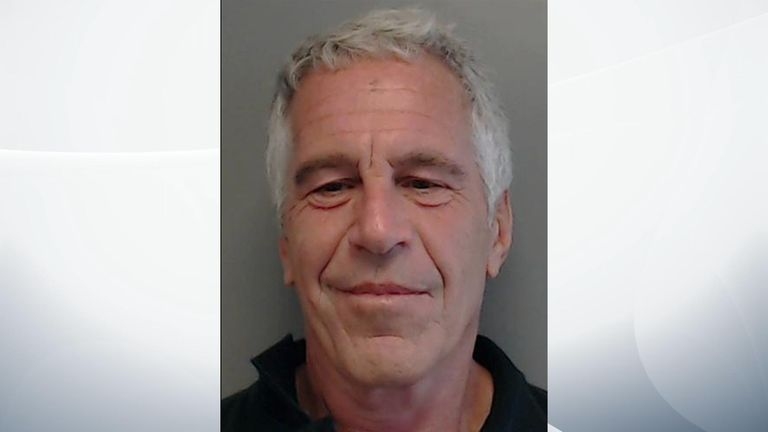 Epstein was arrested on Saturday. Pic: Florida Department of Law Enforcement