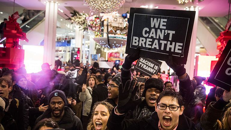 No charges for white cop involved in chokehold death