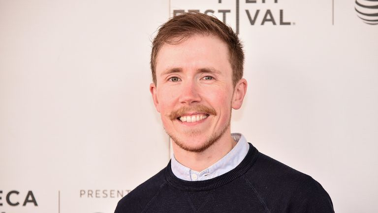 Freddy McConnell, pictured at a screening of documentary Seahorse