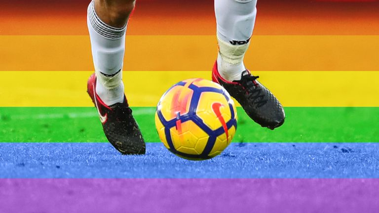 A Twitter user says he will soon come out as Britain's only openly gay footballer