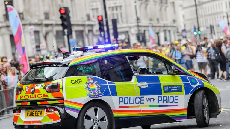 London's Pride parade