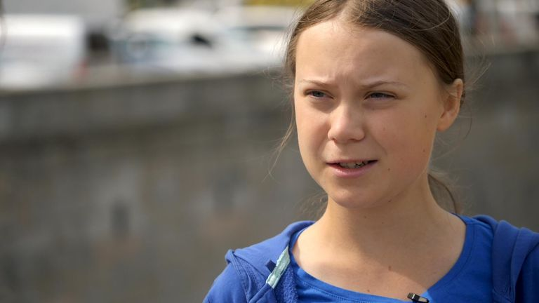 Greta Thunberg says politicians who do not act on climate change risk being seen as 'the greatest villains in human history'