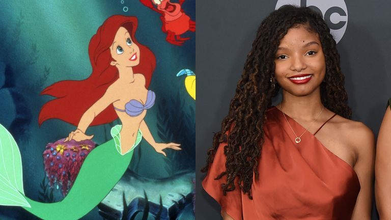 Image result for Halle bailey the little mermaid