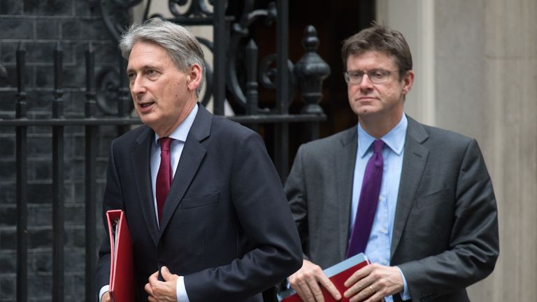Philip Hammond and Greg Clark both defied the Whip