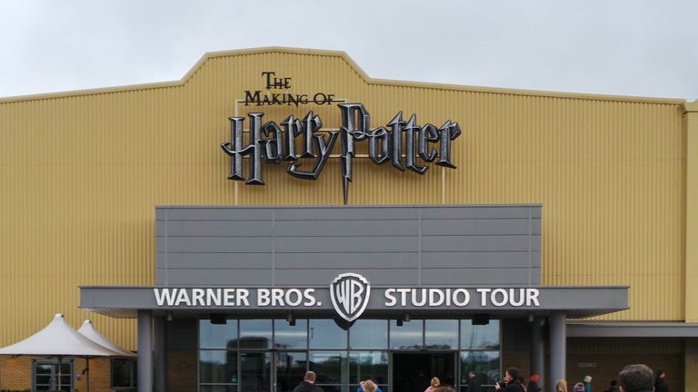 The accident happened at Warner Bros Studios in Hertfordshire