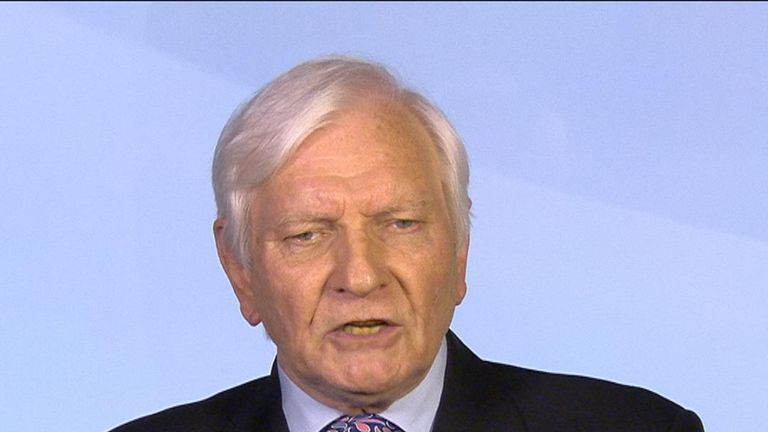 Harvey Proctor is unhappy with the way his name was linked to a false scandal created by Carl Beech