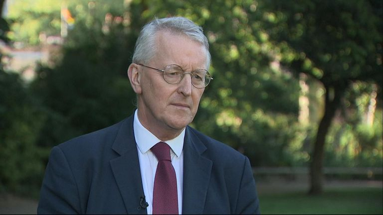 Hilary Benn says there is no mandate for a no-deal Brexit
